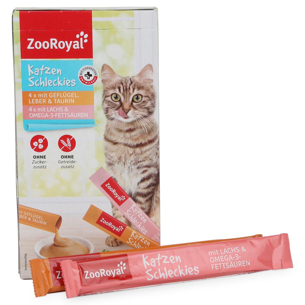zooroyal katzen schleckies g nstig kaufen bei zooroyal. Black Bedroom Furniture Sets. Home Design Ideas