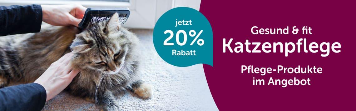 20% auf Katzenpflege