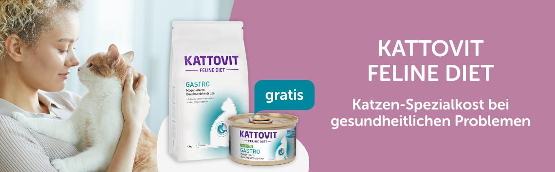 Kattovit + Nassfutter gratis