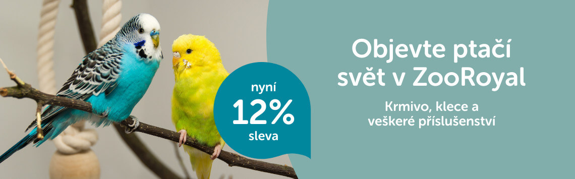 Ptačí sortiment -12%
