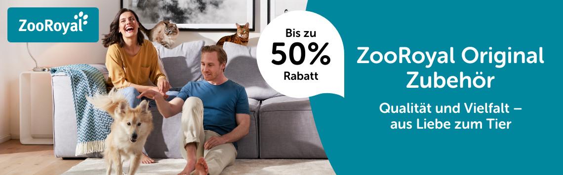 ZooRoyal Hunde- und Katzenausstattung bis zu 50%