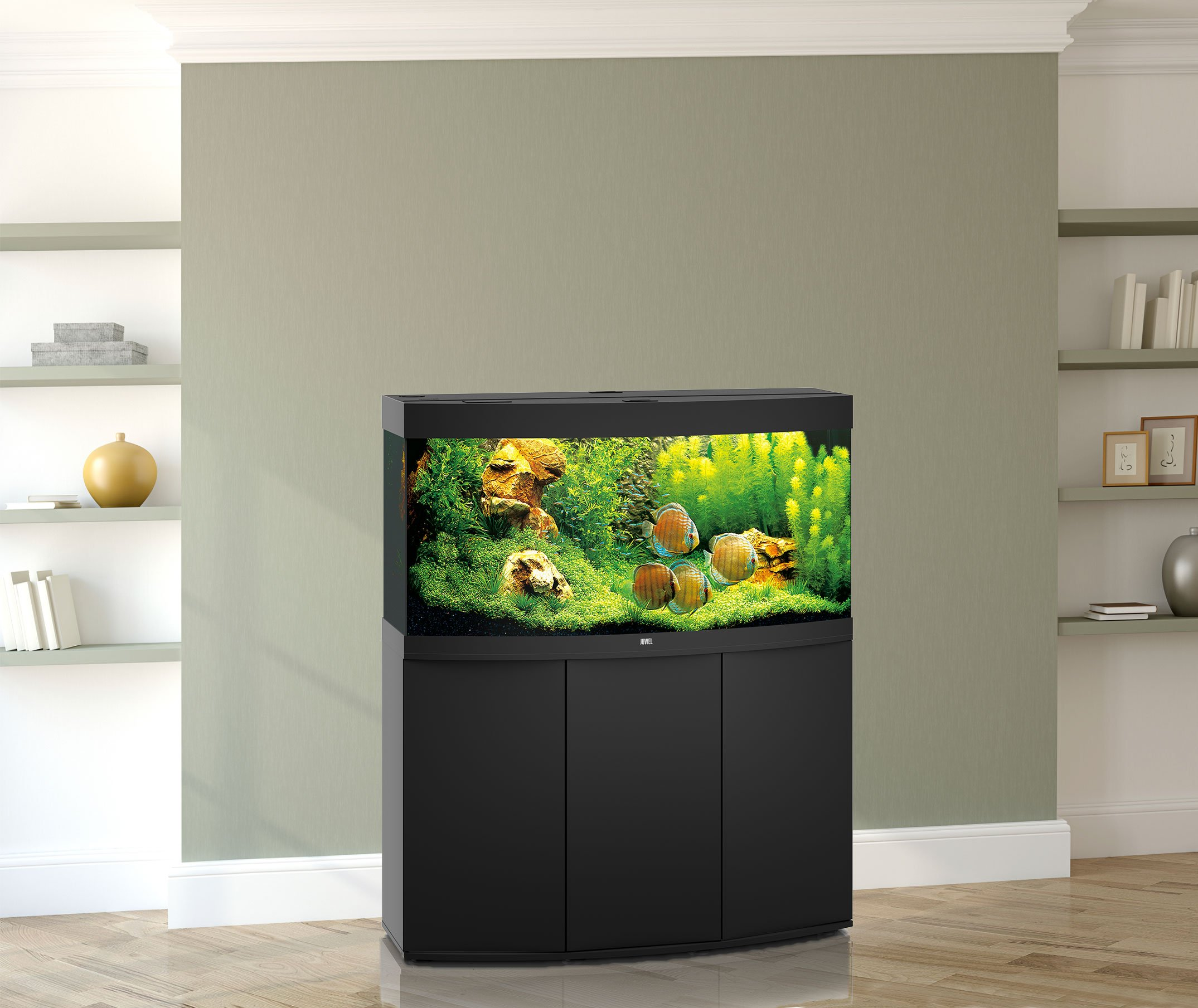 juwel aquarium vision 260 led mit unterschrank sbx bei. Black Bedroom Furniture Sets. Home Design Ideas