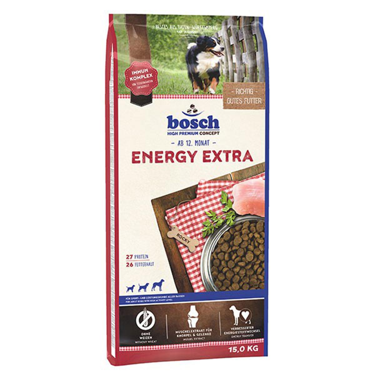 Bosch Hundefutter Energie Extra 15kg