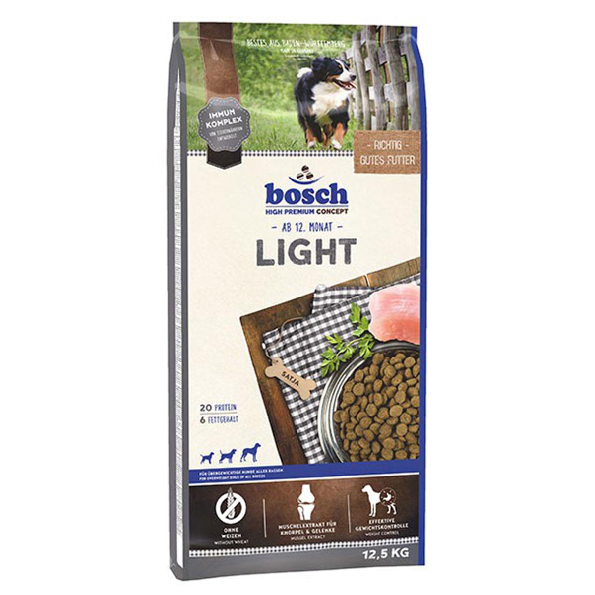Bosch Hundefutter Light 12,5kg