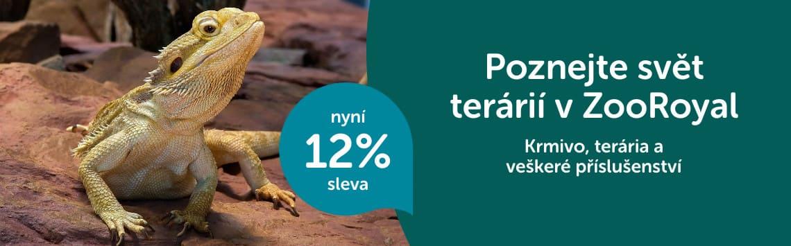 Teraristické potřeby -12%