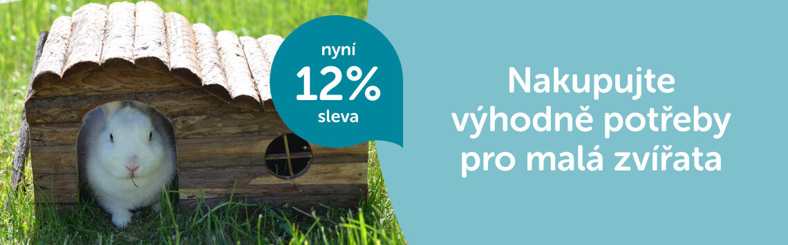 Sortiment pro hlodavce -12 %