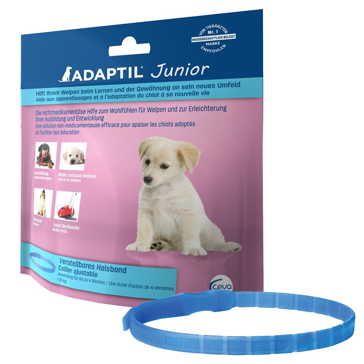adaptil junior halsband g nstig kaufen bei zooroyal. Black Bedroom Furniture Sets. Home Design Ideas