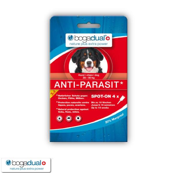 bogadual anti parasit spot on hund g nstig kaufen bei zooroyal. Black Bedroom Furniture Sets. Home Design Ideas