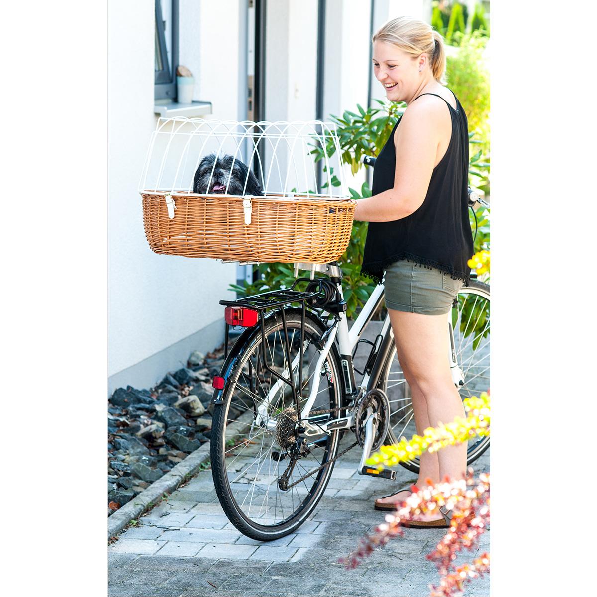 Aum ller fahrrad tierkorb weide standard f r rahmenmontage hundekorb fahrradkorb 4011599209237 - Fahrrad hundekorb ...