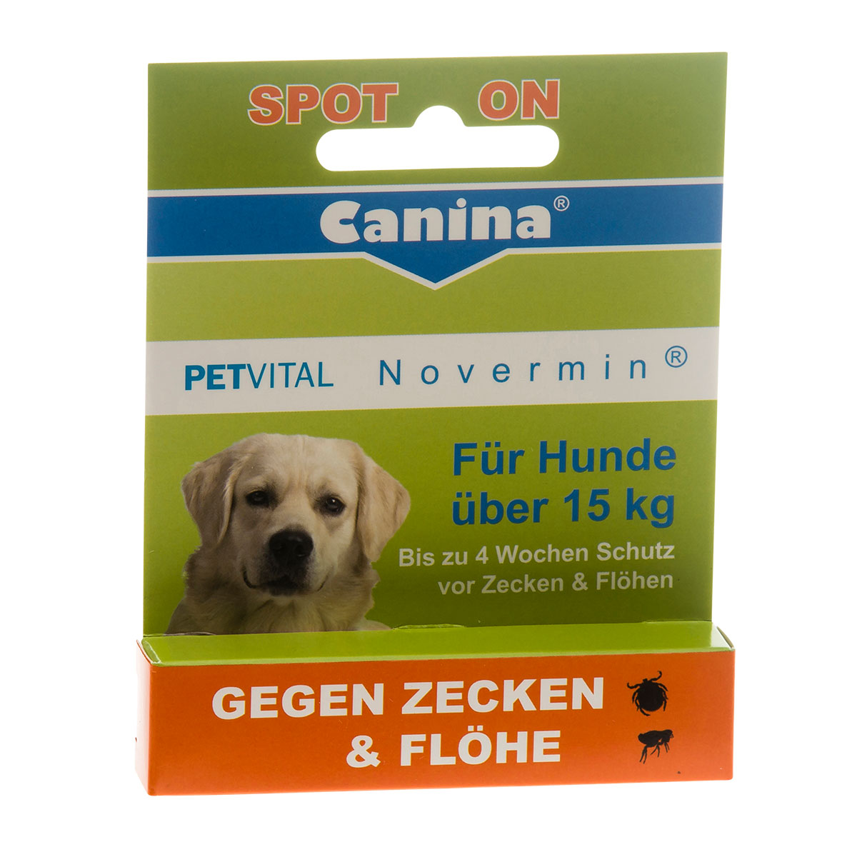 canina petvital novermin f r gro e hunde 4ml kaufen bei zooroyal. Black Bedroom Furniture Sets. Home Design Ideas