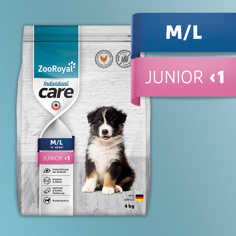 ZooRoyal Individual Care M/L Junior Geflügel