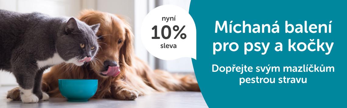 Míchaná balení pro psy a kočky -10%