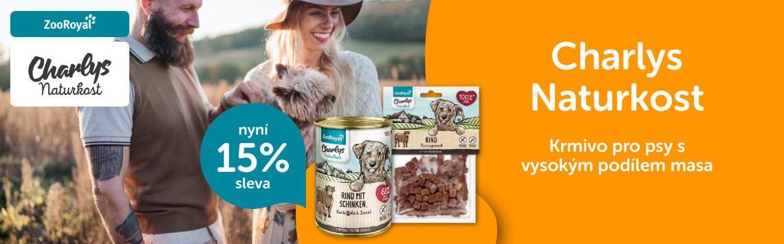 Krmivo Charlys Naturkost -15 %