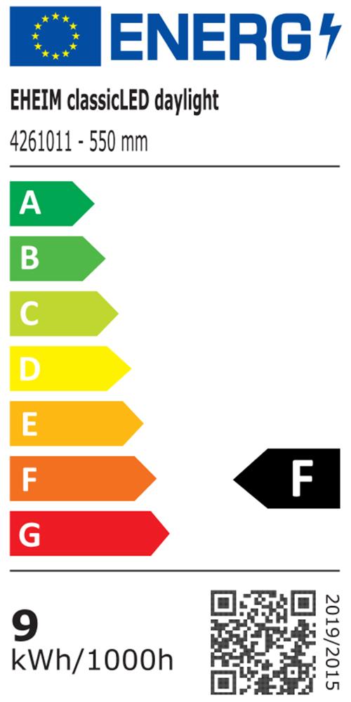 EHEIM classicLED daylight Energieeffizienzklasse