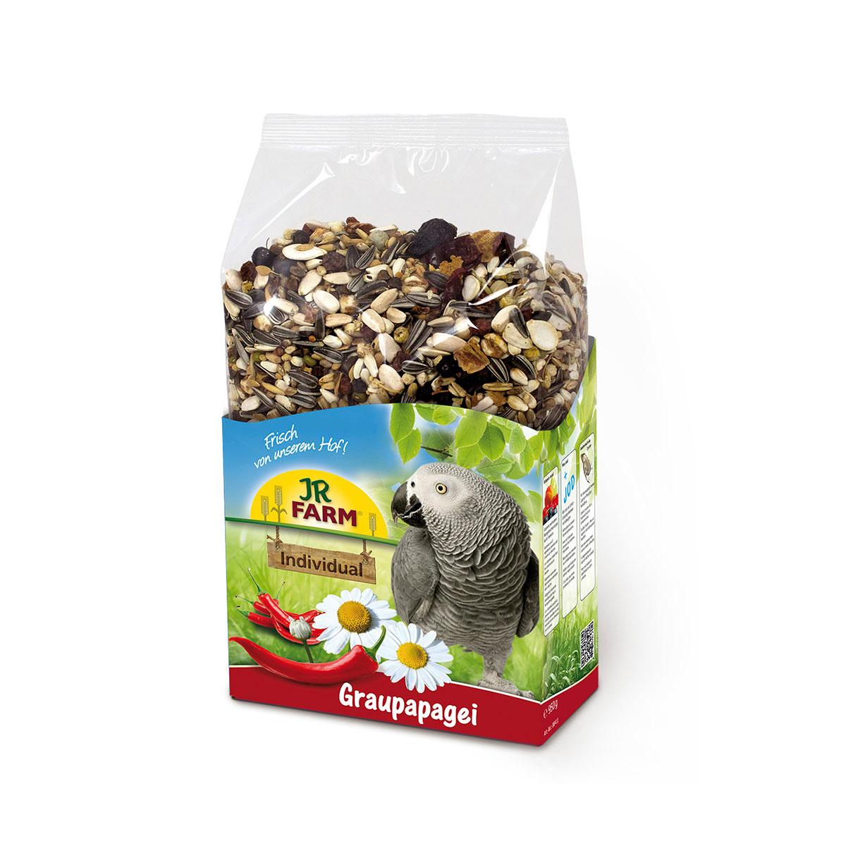 Jr farm individual für graupapageien g kaufen bei zooroyal