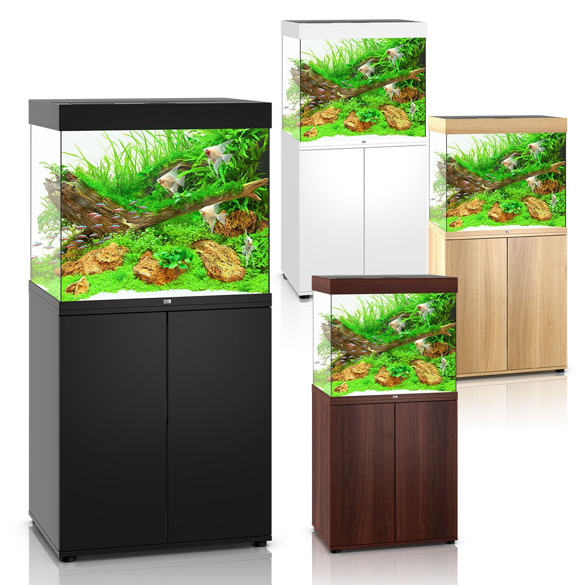 juwel lido 200 led komplett aquarium mit unterschrank sbx. Black Bedroom Furniture Sets. Home Design Ideas