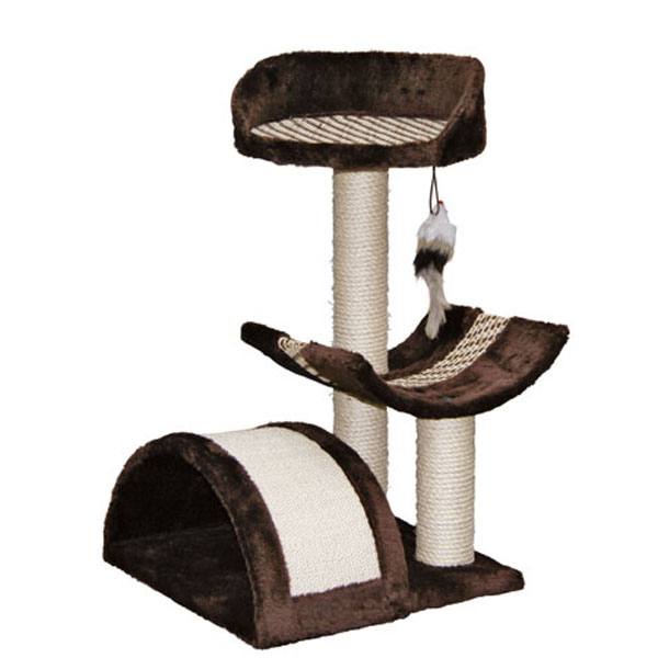 kerbl kratzbaum safari mit sisal verkleidung kaufen bei zooroyal. Black Bedroom Furniture Sets. Home Design Ideas