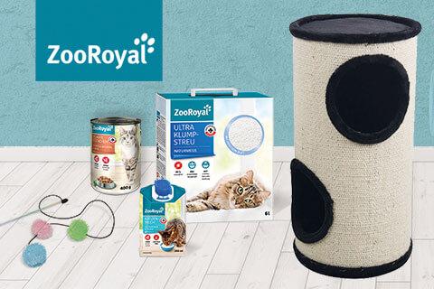 Original ZooRoyal Produkte für die Katze entdecken