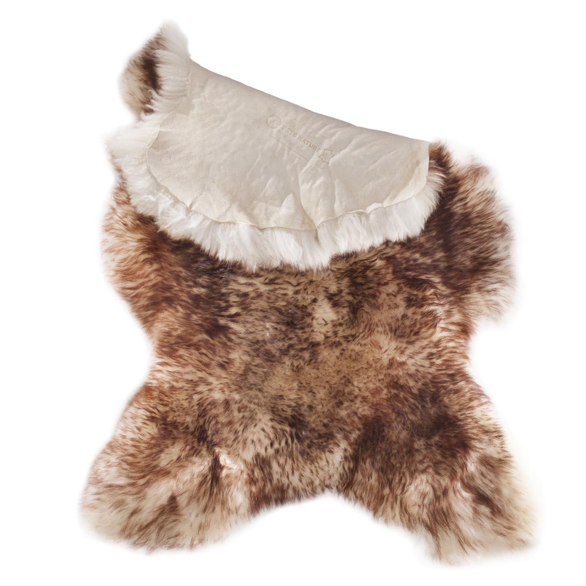 pets nature echtes schaffell braun wei kaufen bei zooroyal. Black Bedroom Furniture Sets. Home Design Ideas
