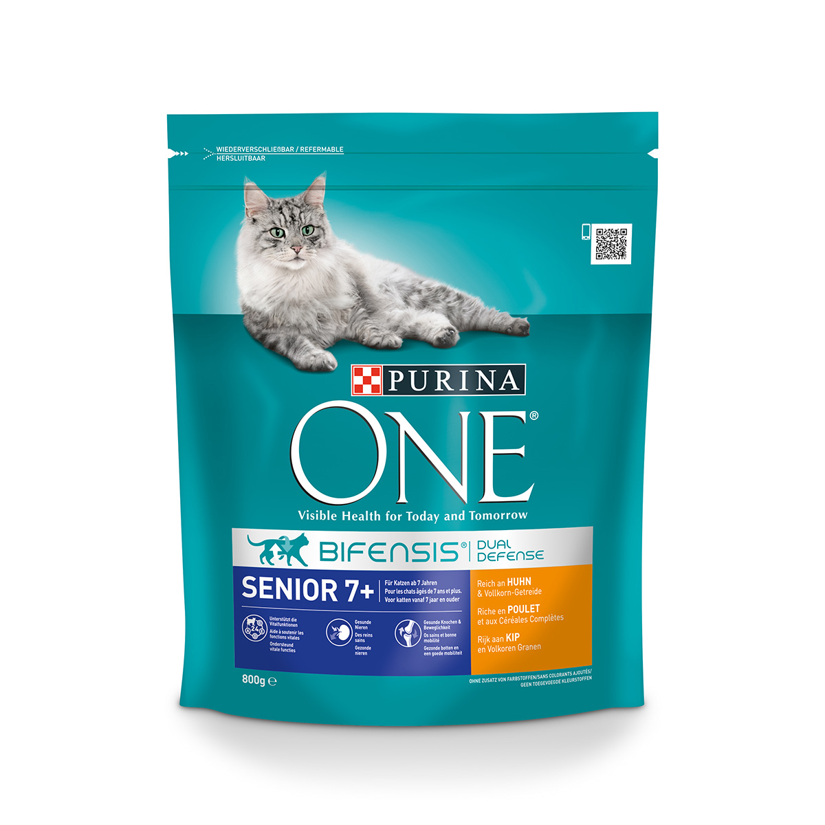 purina one bifensis katzenfutter senior 7 huhn 800g bei. Black Bedroom Furniture Sets. Home Design Ideas