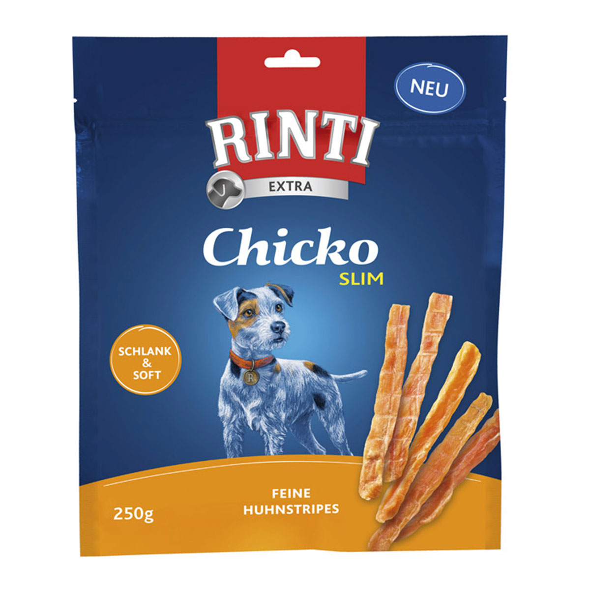 rinti hundesnack chicko slim huhn 250g kaufen bei zooroyal. Black Bedroom Furniture Sets. Home Design Ideas