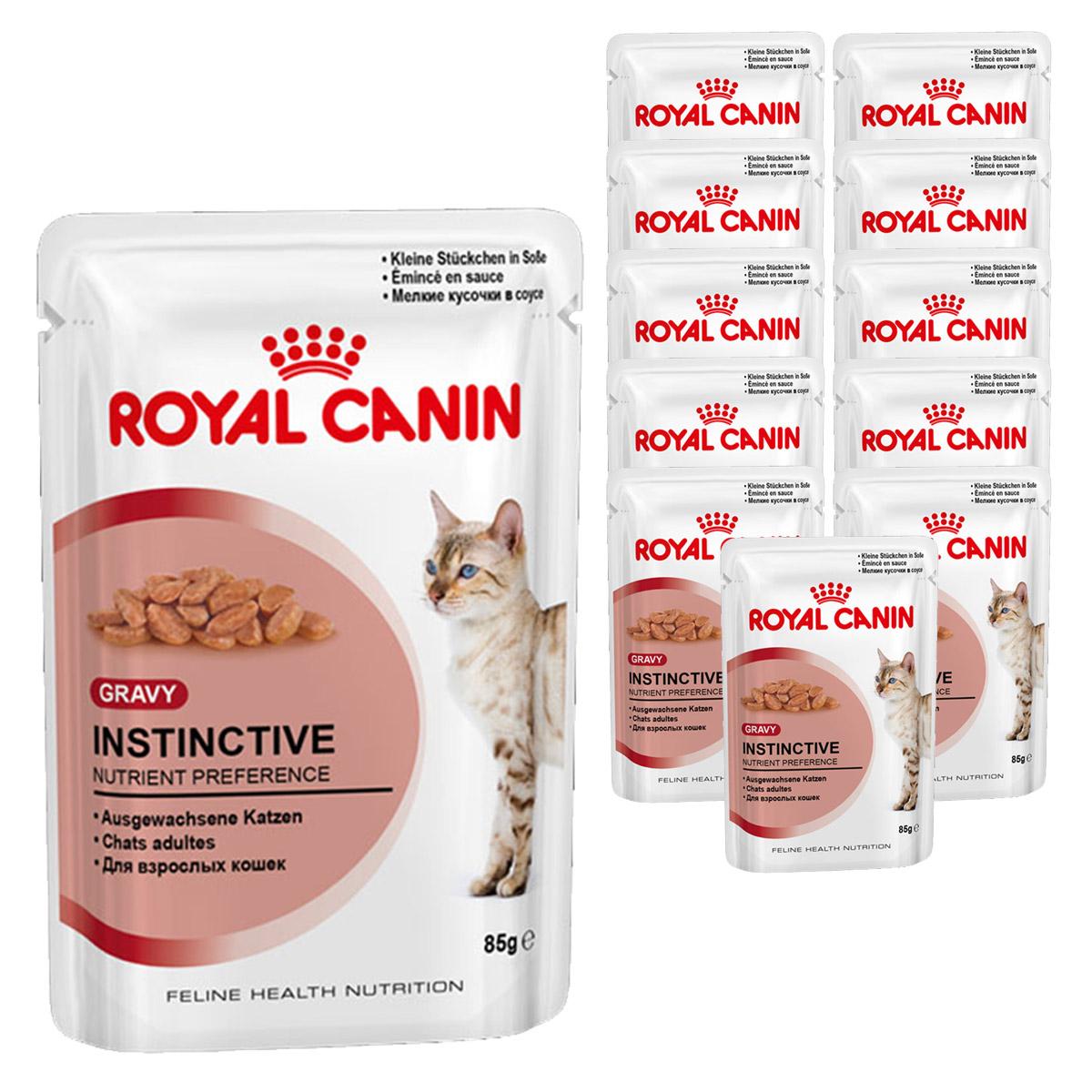 royal canin katzenfutter instinctive in so e 12 x 85g. Black Bedroom Furniture Sets. Home Design Ideas