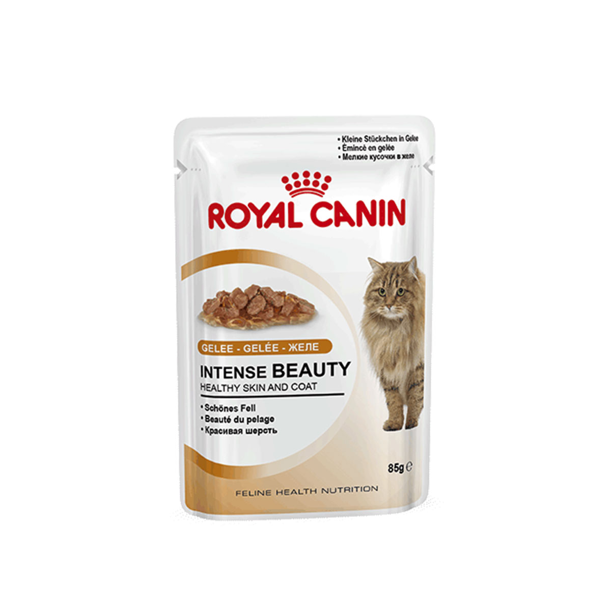 royal canin katzenfutter intense beauty in gelee 12x85g. Black Bedroom Furniture Sets. Home Design Ideas