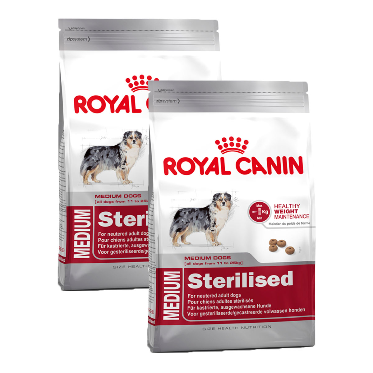 Royal canin medium sterilised g nstig kaufen bei zooroyal for Royal canin ecuador