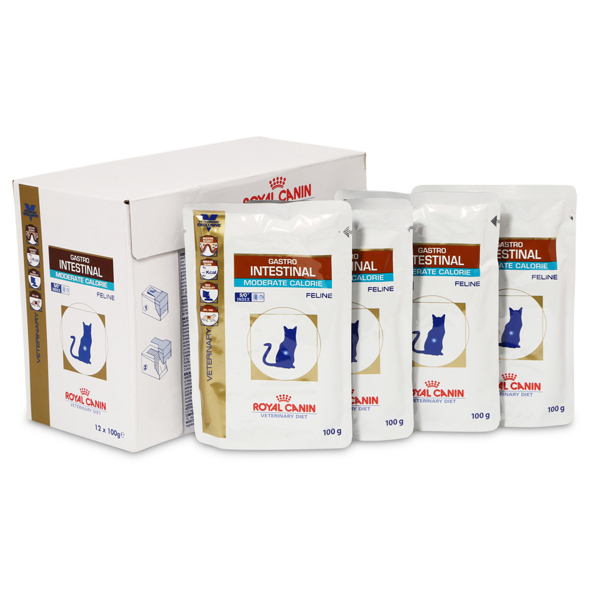 royal canin vet diet nassfutter gastro intestinal moderate. Black Bedroom Furniture Sets. Home Design Ideas