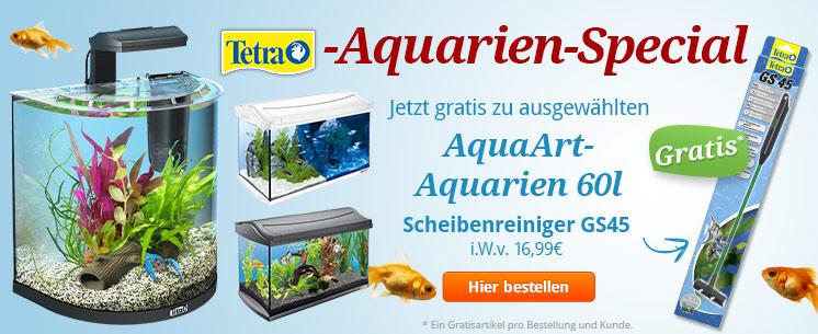Tetra-Aquarien-Special zu ausgewählten AquaArt-Aquarien 60l