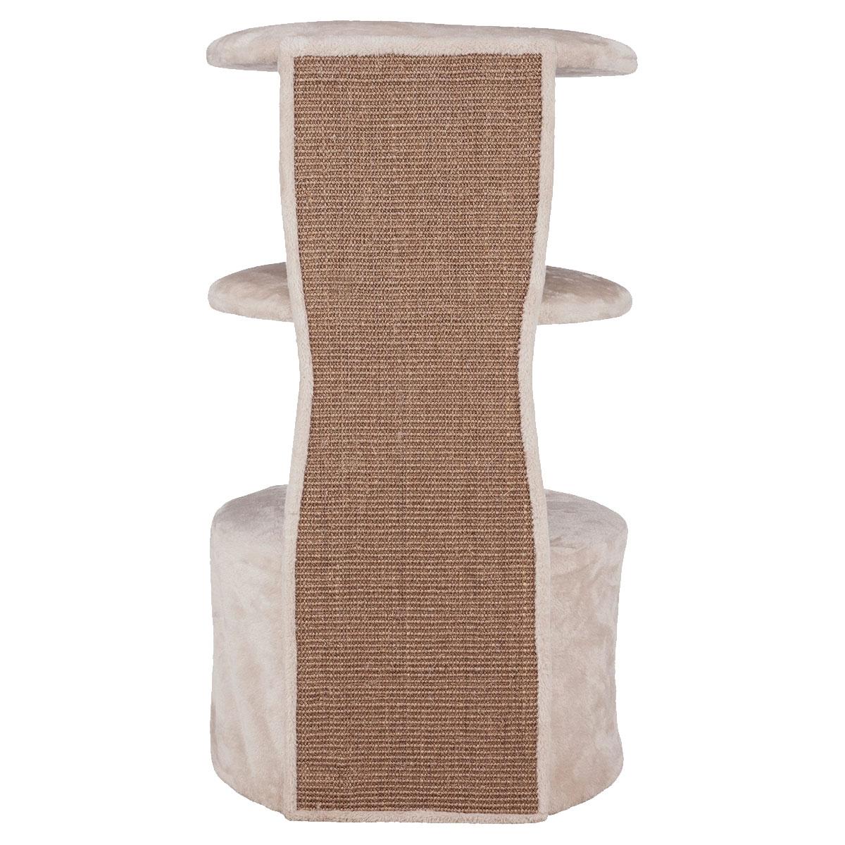trixie kratzbaum camilla in lichtgrau g nstig kaufen bei zooroyal. Black Bedroom Furniture Sets. Home Design Ideas