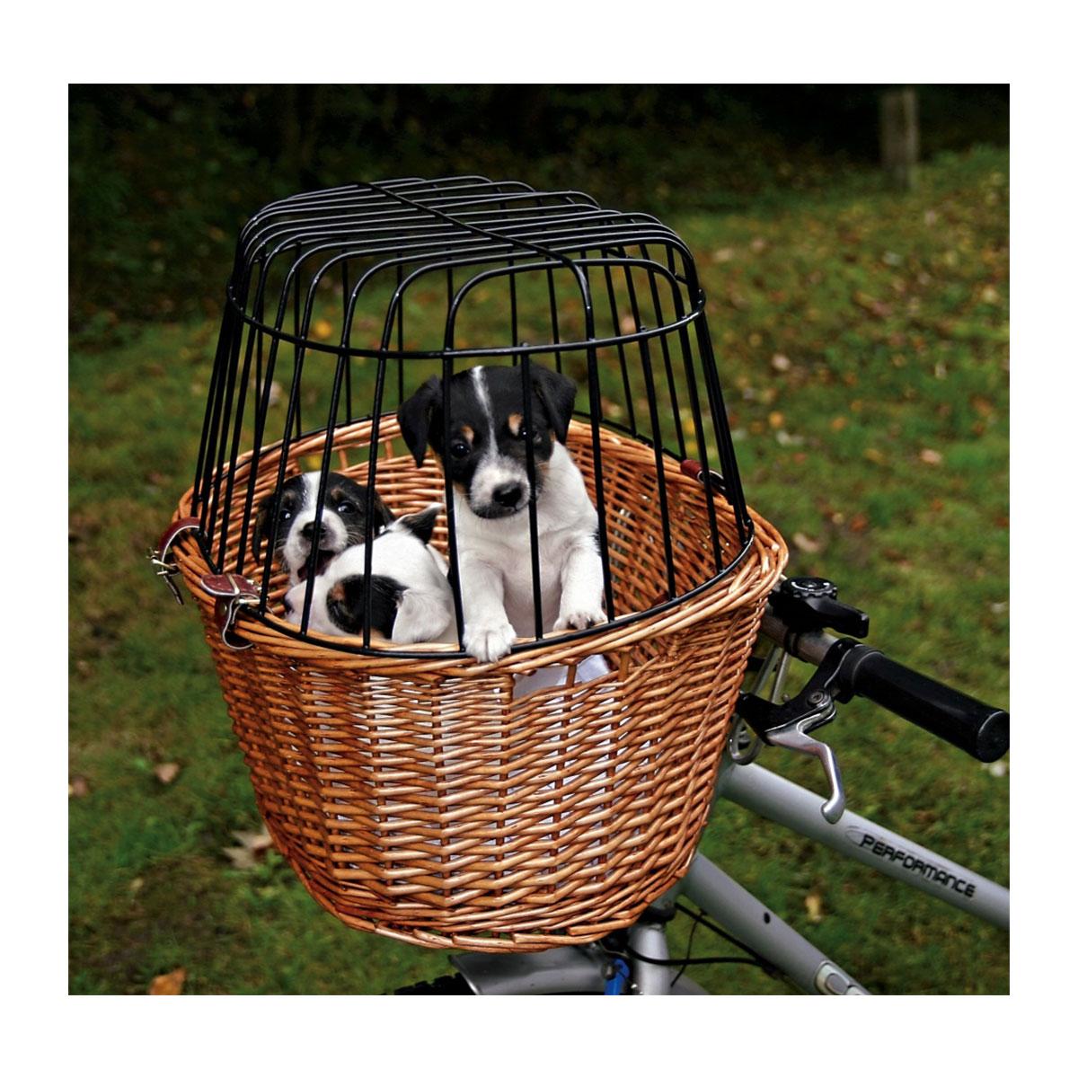 trixie fahrradkorb mit gitter f r hunde ebay. Black Bedroom Furniture Sets. Home Design Ideas