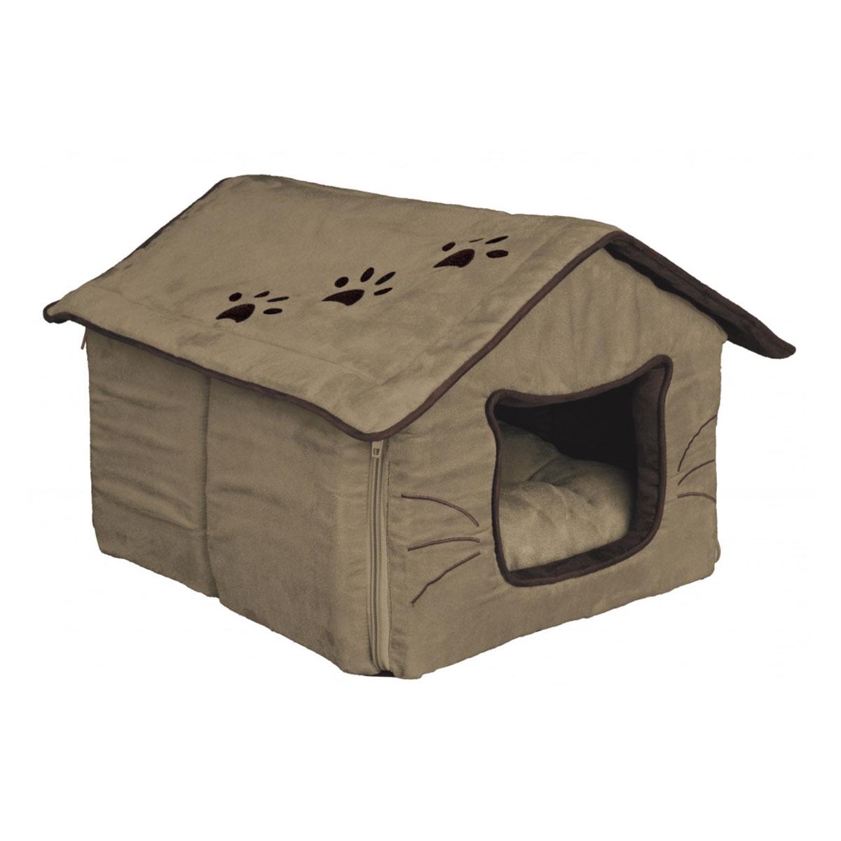trixie kuschelh hle hilla f r katzen g nstig kaufen bei zooroyal. Black Bedroom Furniture Sets. Home Design Ideas