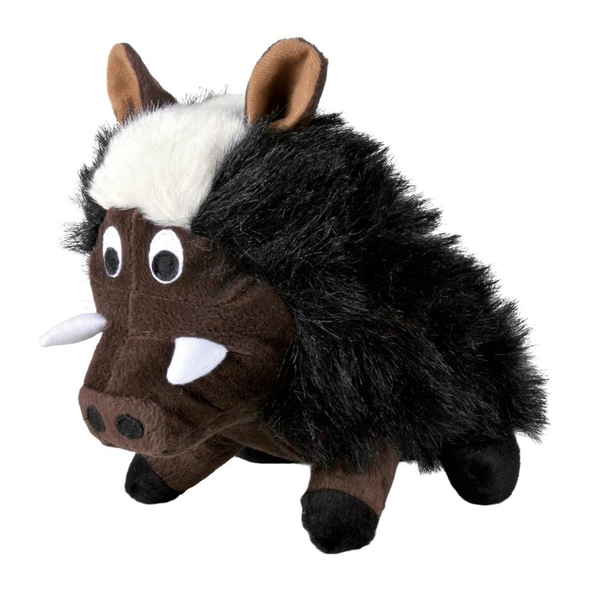 Trixie wildschwein plüsch spielzeug mit original