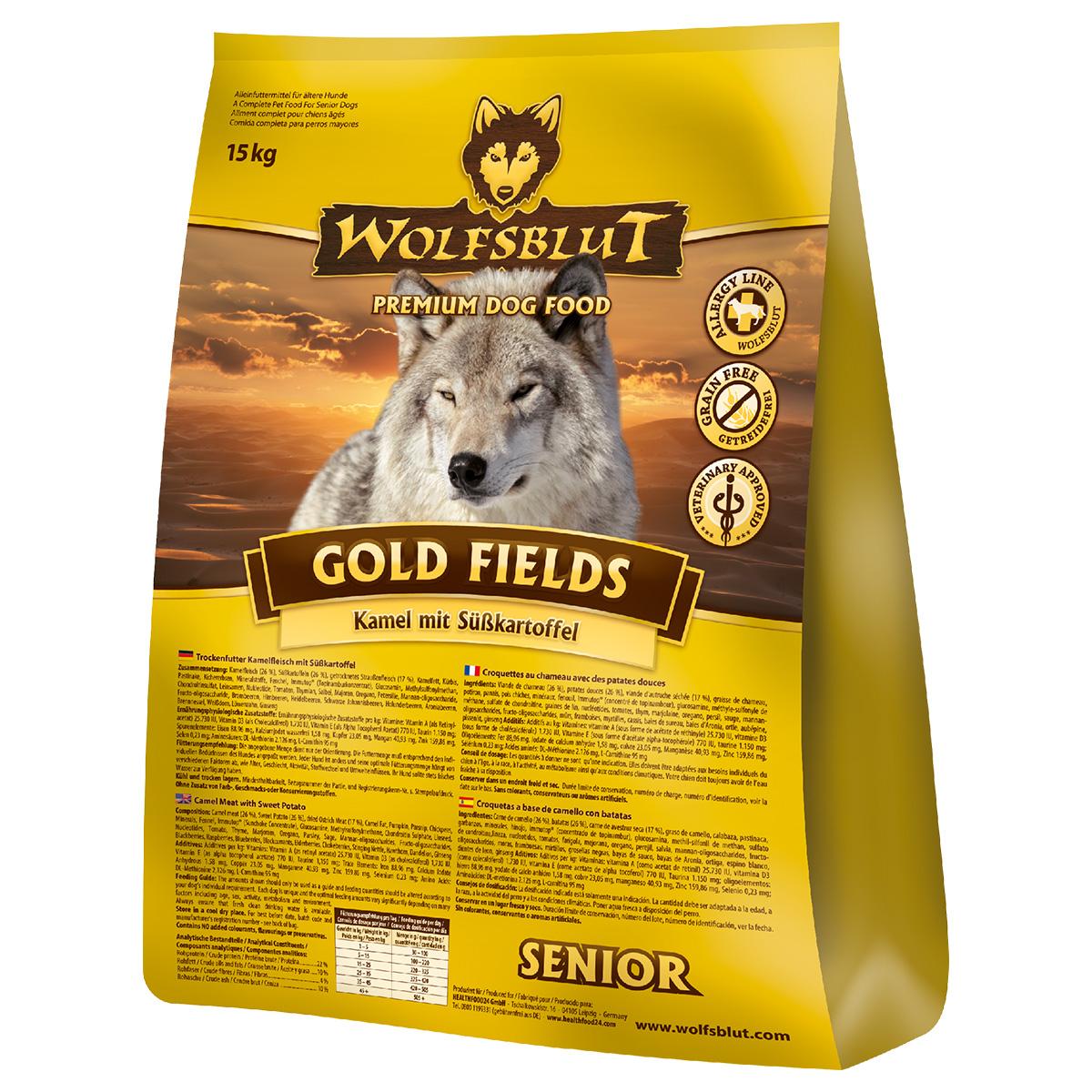 wolfsblut gold fields senior g nstig kaufen bei zooroyal. Black Bedroom Furniture Sets. Home Design Ideas
