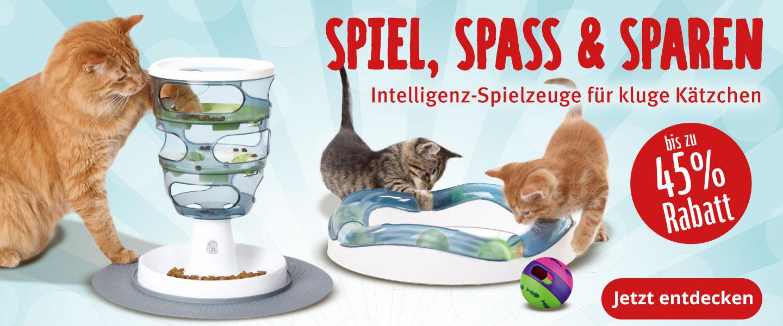 Intelligenzspielzeug für Katzen