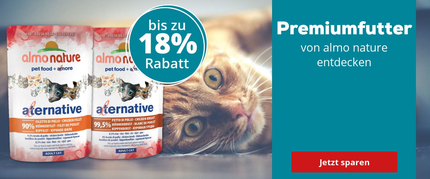 Almo Nature Alternative im Angebot
