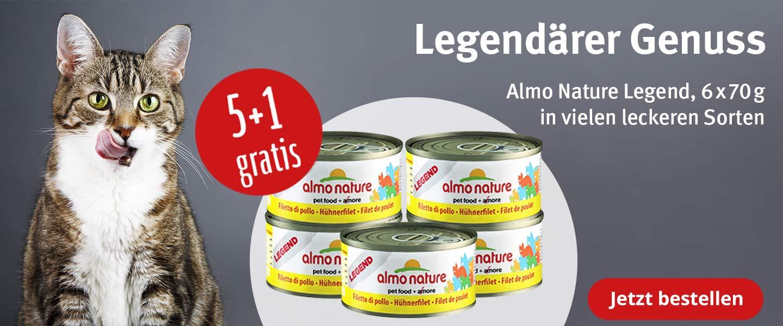 Almo Nature Legend Cat 5+1 gratis