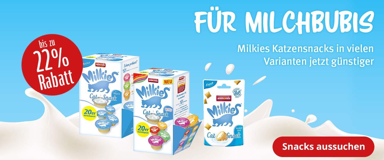 Bis zu 22% Rabatt auf Milkies