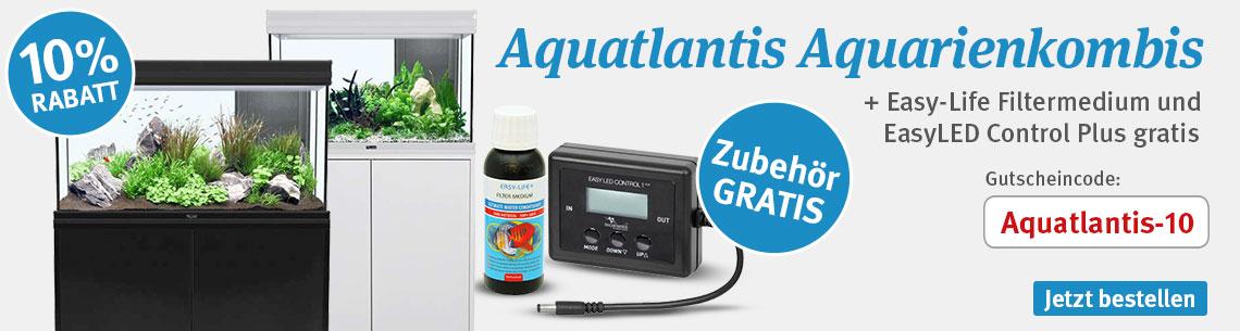 10% Rabatt auf Aquatlantis Aquarien