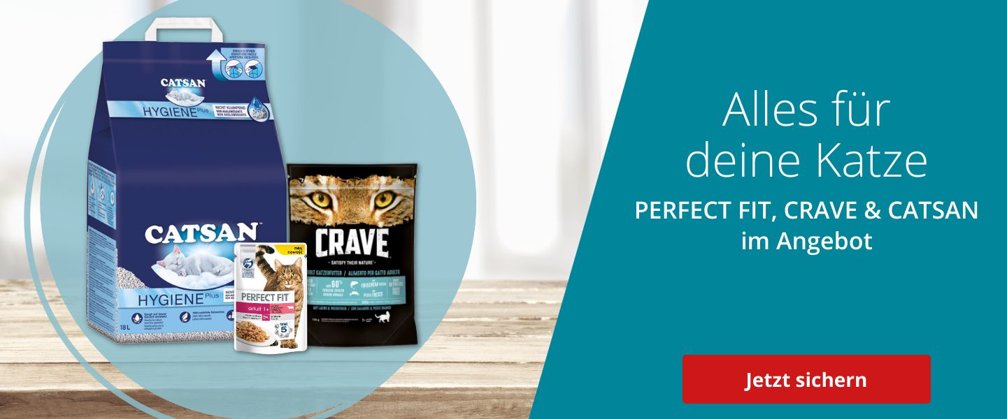 Perfect Fit, Catsan, Crave