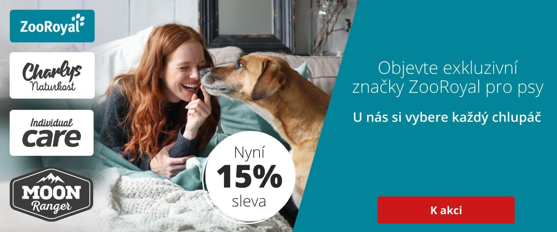 15% na ZooRoyal psí produkty