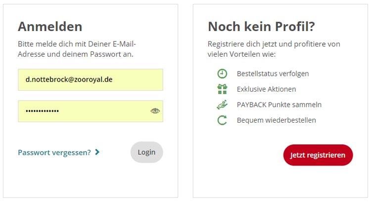 Registierung