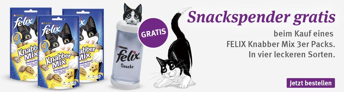 Felix + Snackspender