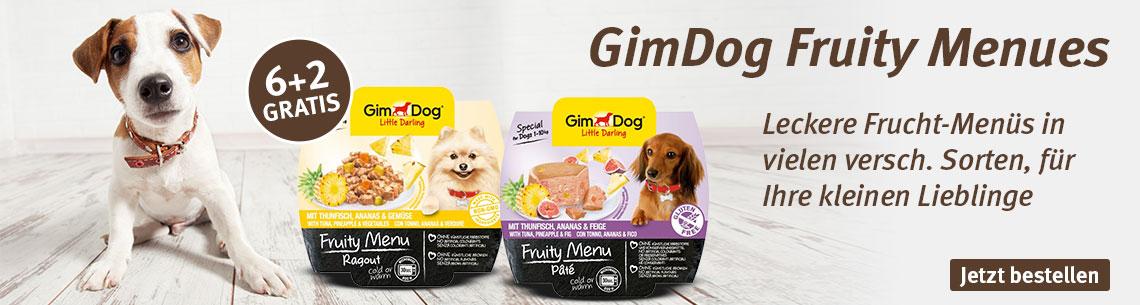 Gimdog Fruity 6+2 gratis