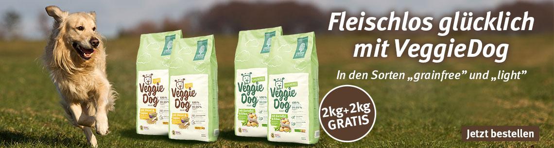Green Petfood Trockenfutter 2+2kg gratis