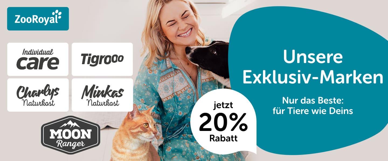 20% auf ZooRoyal Produkte