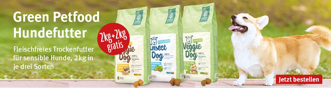 Green Petfood 2kg + 2kg gratis