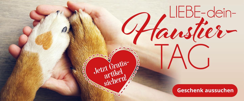 Gratis Artikel zum Liebe-dein-Haustier-Tag