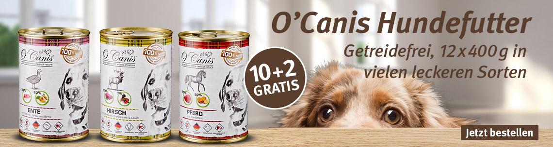 O'Canis Nassfutter 10+2 gratis